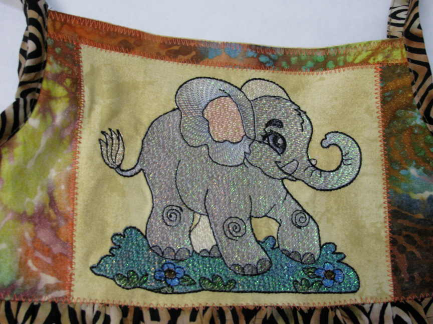 Elephant on Bib