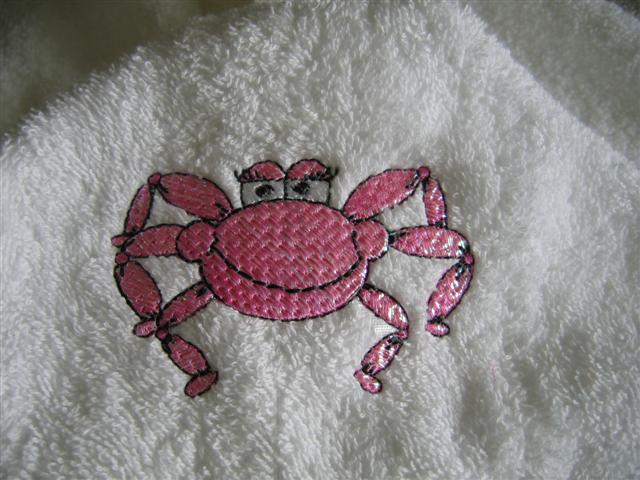 Deequilts - close up of crab