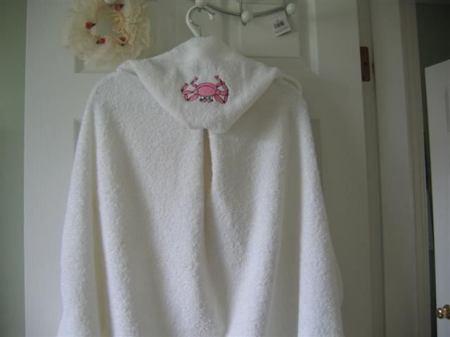 Deequilts - Hooded bath towel