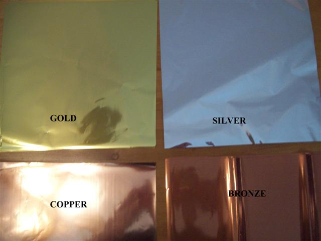 Gold, Silver, Copper & Bronze