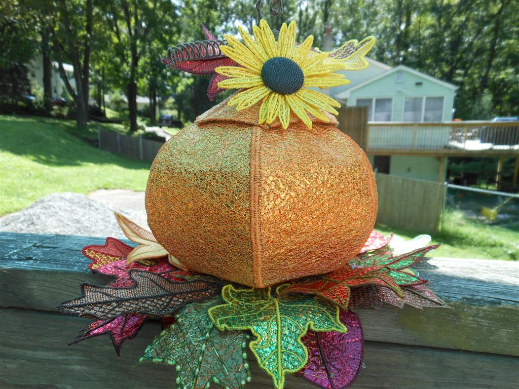 Pams' 3D Pumpkin Project