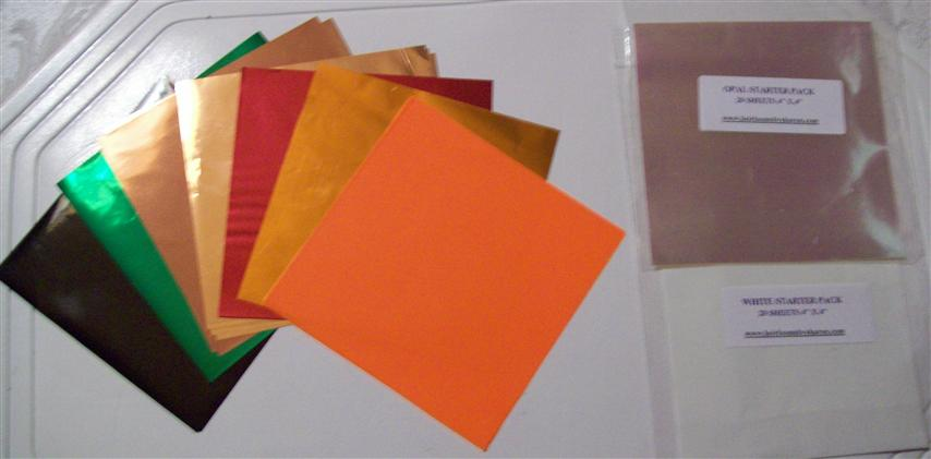 Fall Seasonal Bundle Mylar Sheets