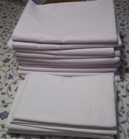 Pillow cases and table cloths