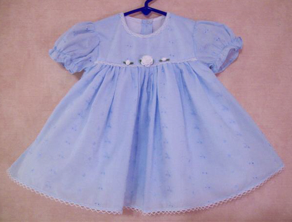 Broderie Anglais Dress  Size 18 mths